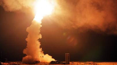 Пуск ракет ЗРС С-400 «Триумф». Архивное фото