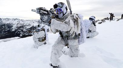Учения Корпуса морской пехоты США