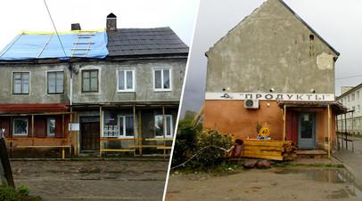 В Калининградской области чиновники против воли жильцов ремонтируют ветхий дом