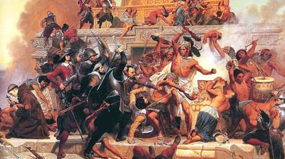 «Трагическая страница истории»: как испанцы уничтожили империю ацтеков