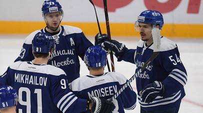 Нападающий «Динамо» Ефремов оценил предстоящие матчи с ЦСКА во втором раунде плей-офф КХЛ