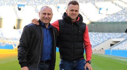 Денис и Дмитрий Черышевы в Нижнем Новгороде
