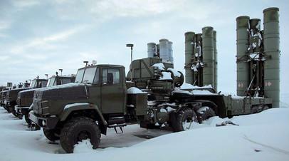 На боевое дежурство в Арктике заступил новый зенитный ракетный полк ПВО Северного флота
