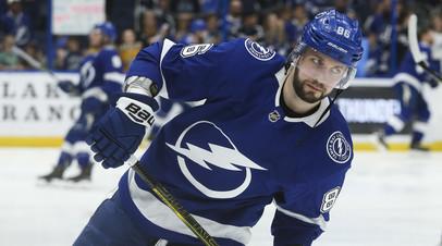 Лучше Овечкина и Малкина: Кучеров набрал четыре очка в одном матче и стал самым результативным игроком НХЛ за 12 лет