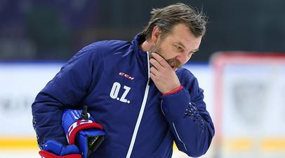 СМИ: Знарок является приоритетным кандидатом на должность главного тренера ХК «Спартак»