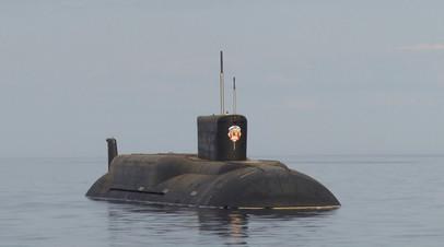 Минобороны показало испытания подводного ракетоносца типа  «Борей»