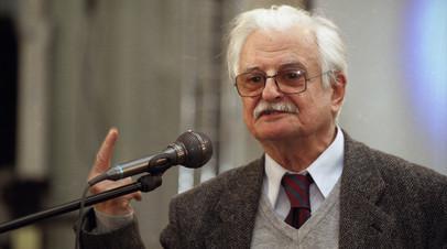 Калягин прокомментировал сообщение о смерти Хуциева
