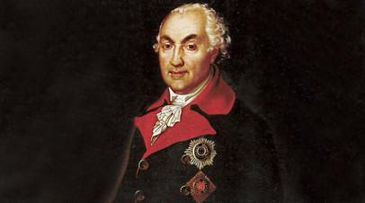 Неизвестный художник. Портрет князя Николая Васильевича Репнина