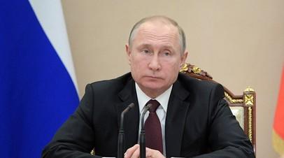 Песков раскрыл содержание послания Путина Асаду