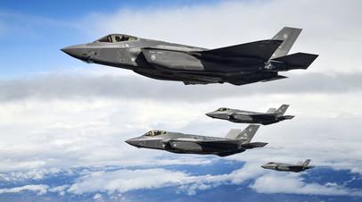 Истребители F-35A ВВС США
