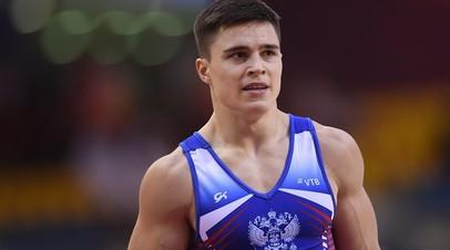 Гимнаст Нагорный завоевал золото в многоборье на этапе КМ в Бирмингеме