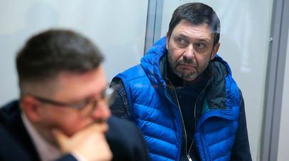 Кирилл Вышинский в Подольском районном суде Киева
