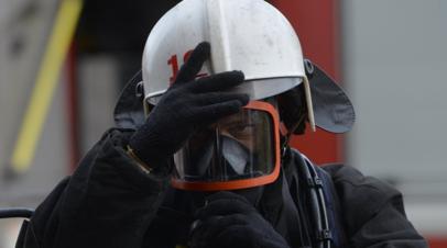 Под Оренбургом при пожаре в частном доме погибли четыре человека