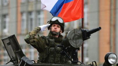 В Екатеринбурге провели первую репетицию парада Победы