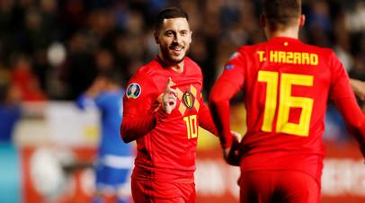 Куртуа признался, что хотел бы видеть Азара в «Реале»