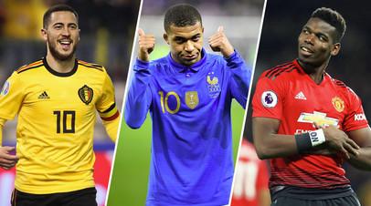 В погоне за звёздами: «Реал» намерен потратить €500 млн на трансферы Мбаппе, Азара и Погба