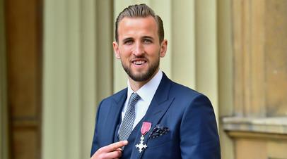 Футболист «Тоттенхэма» Кейн награждён орденом Британской империи