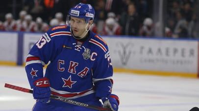 В СКА объяснили, почему Дацюк пропустил первый матч финала Западной конференции КХЛ с ЦСКА