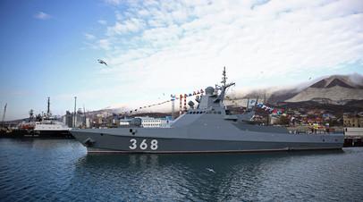 Головной патрульный корабль проекта 22160 «Василий Быков»