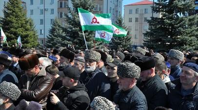 Песков: Кремль внимательно следит за ситуацией в Ингушетии