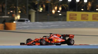 Феттель стал быстрейшим по итогам второй практики Гран-при Бахрейна, Квят — десятый