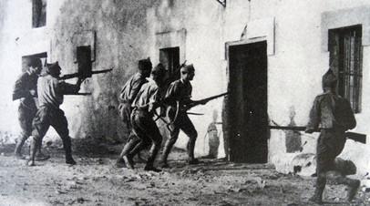 Солдаты Франко, 1936 год