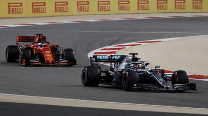 Хэмилтон выиграл Гран-при Бахрейна, Квят — 12-й