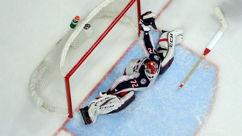 Бобровский стал лидером сезона в НХЛ по количеству сухих матчей