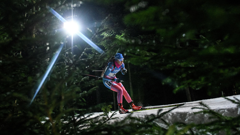 Глазырина вошла в расширенный состав сборной России по биатлону на сезон-2019/20