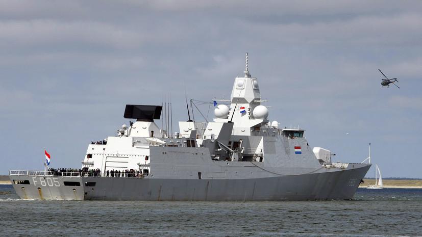 Корабли НАТО зашли в грузинский порт Поти