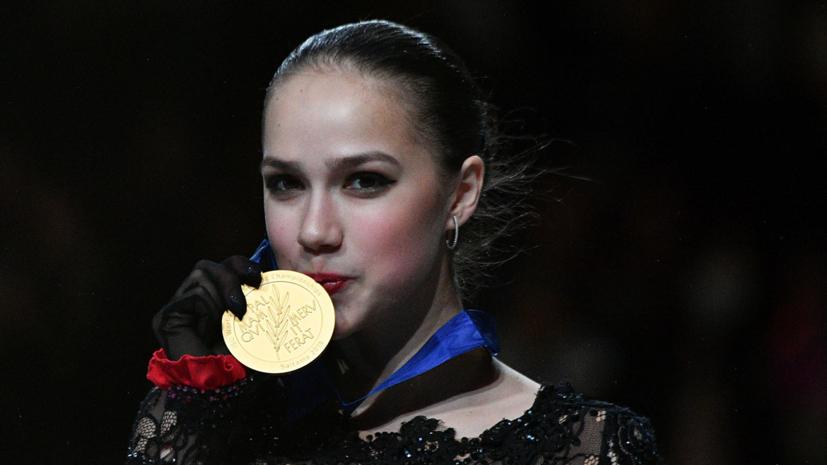 Тутберидзе о золоте Загитовой на ЧМ: это была самая сложная медаль
