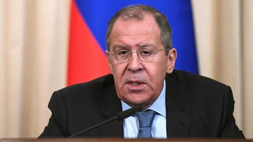 Лавров и глава МИД Абхазии обсудили вопросы двойного гражданства