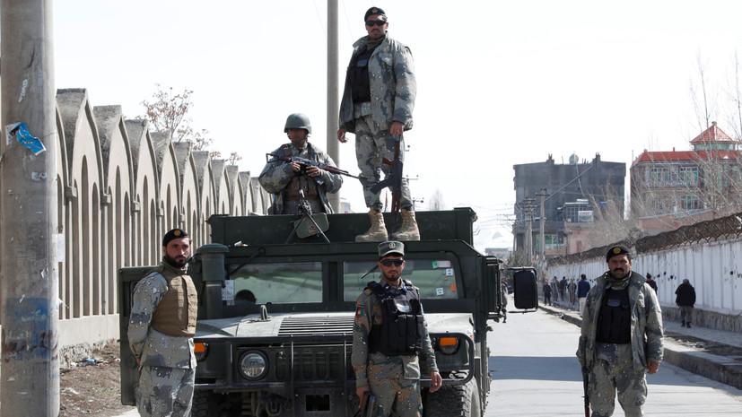В Афганистане восемь полицейских погибли при нападении талибов