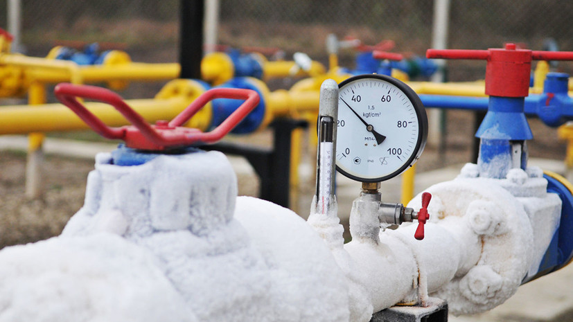 Украина за три месяца снизила импорт газа почти на 15%