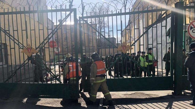 При взрыве в военной академии Петербурга пострадали четверо курсантов