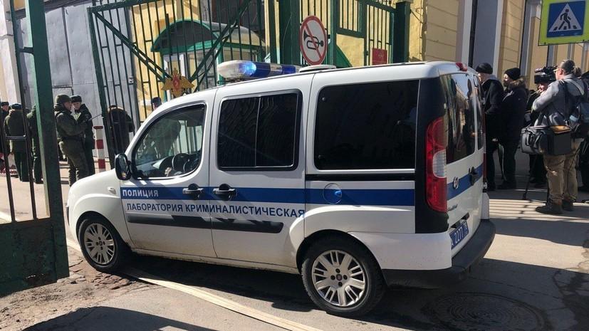 В академии в Петербурге взорвался неустановленный безоболочный предмет