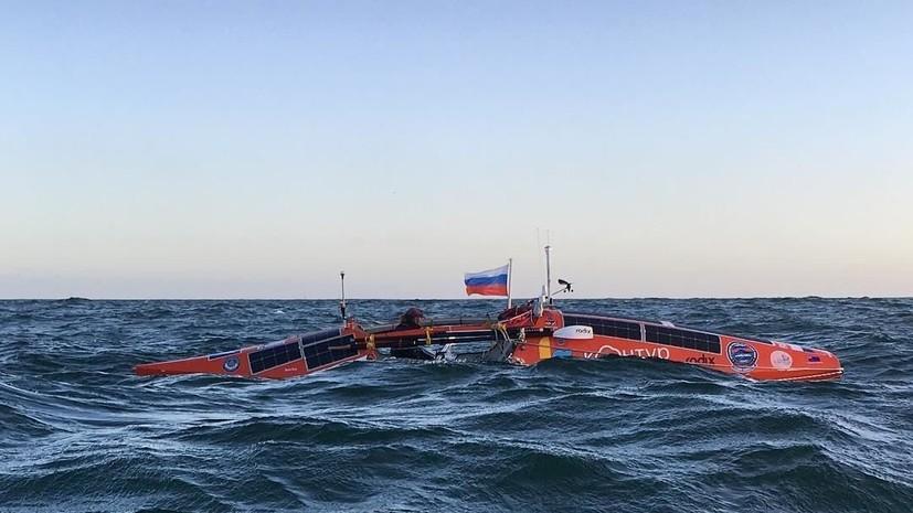 Сын Фёдора Конюхова рассказал о последствиях шторма в Южном океане