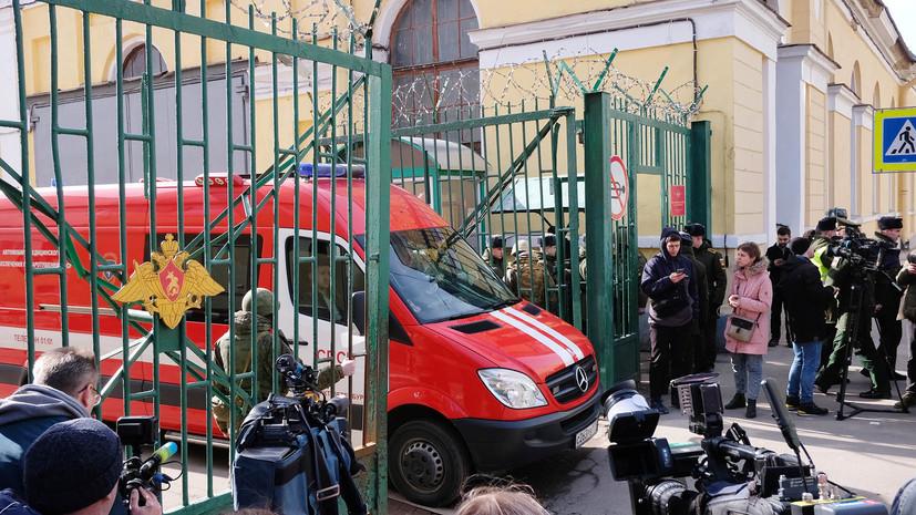«Жизни пострадавших ничего не угрожает»: что известно о взрыве в военной академии имени Можайского в Санкт-Петербурге