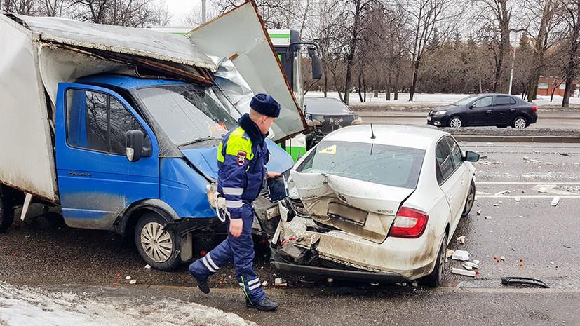 Названы самые «аварийные» имена водителей Москвы