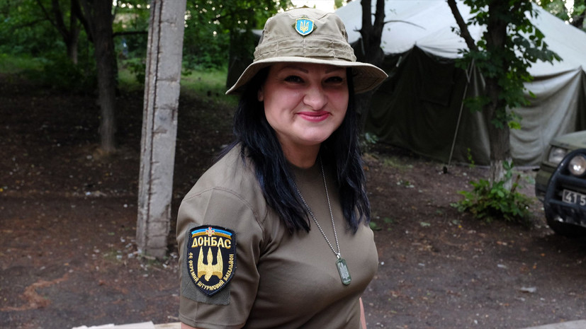 В ЛНР рассказали детали гибели пулемётчицы с позывным Ведьма
