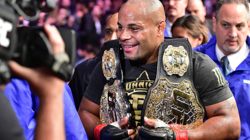 Чемпион UFC Кормье раскритиковал дисквалифицированного российского бойца