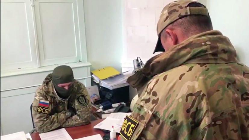 ФСБ задержала мэра Евпатории по подозрению в махинациях