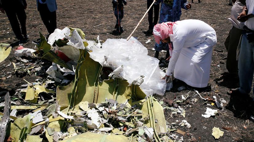 СМИ узнали возможную причину крушения Boeing 737 MAX в Эфиопии