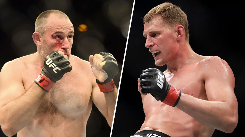 «Из-за проблем со здоровьем»: Олейник заменит Волкова в главном поединке турнира UFC в Санкт-Петербурге