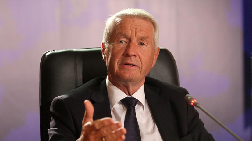 Генсек Совета Европы рассчитывает на решение «российского вопроса»