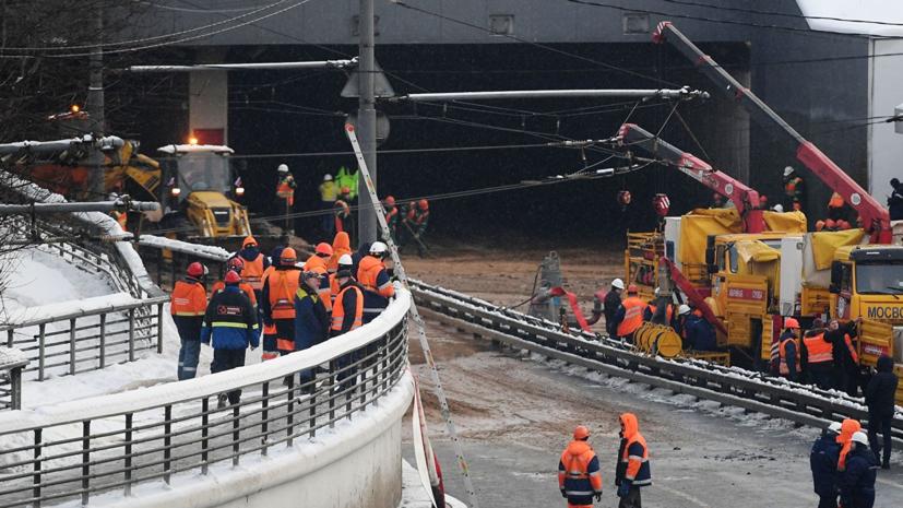 Названы причины аварии в Тушинском тоннеле в Москве