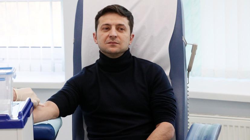 Штаб Порошенко заподозрил Зеленского в фальсификации результатов тестов