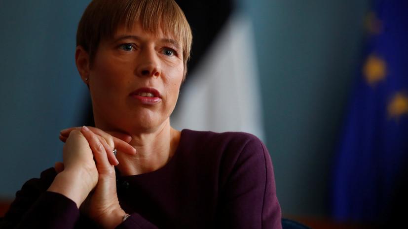 Песков назвал цель встречи Путина с президентом Эстонии