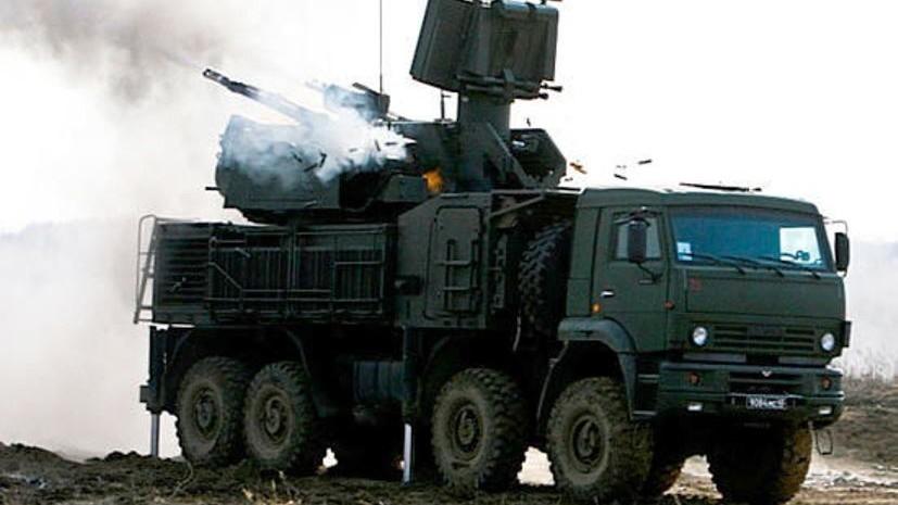ВКС испытали новейший комплекс ПВО «Панцирь-СМ»