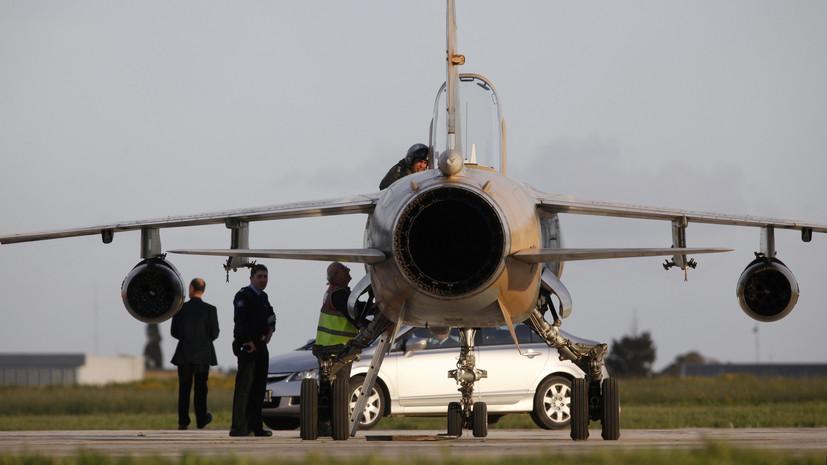 Источник: Ливийская армия начала воздушную операцию в Триполи